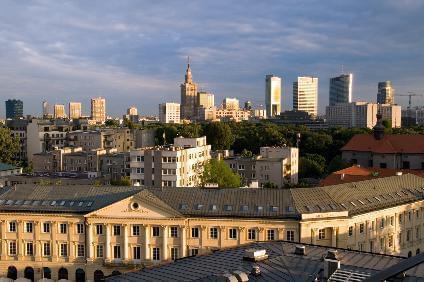 Städtereise nach Warschau