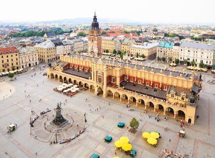 Städtereise nach Krakau