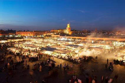 frankfurt am main nach marrakesch