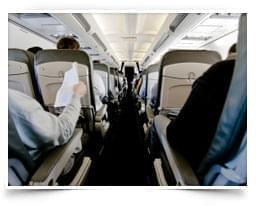 Service & Komfort im Flugzeug